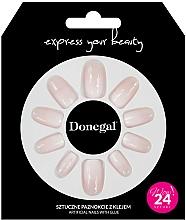 Духи, Парфюмерия, косметика Набор искусственных ногтей с клеем, 3058 - Donegal Express Your Beauty