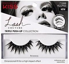 Духи, Парфюмерия, косметика Накладные ресницы - Kiss Lash Couture Triple Push Up False Collection Brassiere
