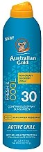 Духи, Парфюмерия, косметика Охлаждающий солнцезащитный спрей - Australian Gold Freash&Cool Continuous Spray Sunscreen SPF30