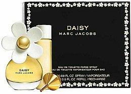 Духи, Парфюмерия, косметика Marc Jacobs Daisy - Набор (edt/20ml + edt/15ml/refill)