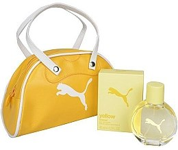 Духи, Парфюмерия, косметика Puma Yellow Woman - Набор (edt 40ml + bag)