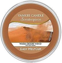 Духи, Парфюмерия, косметика Ароматический воск - Yankee Candle Warm Desert Wind Scenterpiece Melt Cup