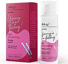 Духи, Парфюмерия, косметика Укрепляющая сыворотка для лица - Kili·g Woman Age Preventing Firming Serum