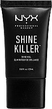 Духи, Парфюмерия, косметика Матирующая основа под макияж - NYX Professional Makeup Shine Killer
