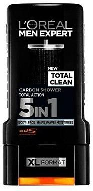 Гель для душа - L'Oreal Men Expert Total Clean Shower Gel — фото N1
