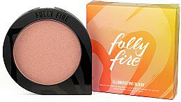 Румяна для лица - Folly Fire Illuminating Blush — фото N1