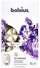 """Духи, Парфюмерия, косметика Ароматический воск """"Лаванда и ромашка"""" - Bolsius True Moods So Relaxed Lavender & Chamomile"""