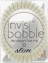 Духи, Парфюмерия, косметика Резинка-браслет для волос - Invisibobble Slim Stay Gold