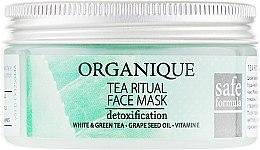 Духи, Парфюмерия, косметика Маска для лица - Organique Tea Ritual Face Mask
