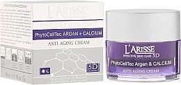 Духи, Парфюмерия, косметика Крем против морщин со стволовыми клетками аргана и БИО кальцием 75+ - Ava Laboratorium L'Arisse 5D Anti-Wrinkle Cream Stem PhytoCellTech Argan + Calcium