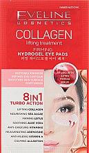 Духи, Парфюмерия, косметика Укрепляющие патчи для глаз - Eveline Cosmetics Collagen Hydrogel Lifting Eye Pads 8in1
