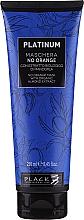 Духи, Парфюмерия, косметика Маска для волос с растительными экстрактами миндаля для нейтрализации оранжевых и медных оттенков - Black Professional Line Platinum No Orange Mask With Organic Almond Extract