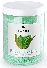 Духи, Парфюмерия, косметика Соль для ванночек для ног - Kabos Eucalyptus & Mint Foot Bath Salt