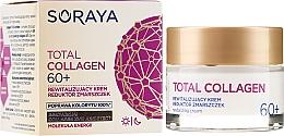 Духи, Парфюмерия, косметика Восстанавливающий крем против морщин днем и ночью 60+ - Soraya Total Collagen 60+