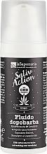 Духи, Парфюмерия, косметика Питательный флюид-антиоксидант легкой консистенции - La Saponaria Uomo SativAction Aftershave Fluid