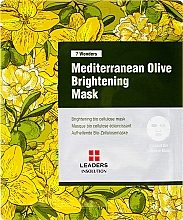 Духи, Парфюмерия, косметика Маска для лица - Leaders 7 Wonders Mediterranean Olive Brightening Mask