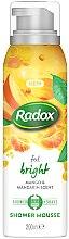 Духи, Парфюмерия, косметика Мусс для душа и бритья - Radox Feel Bright Mango & Mandarin Scent Shower Mousse