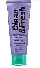 Духи, Парфюмерия, косметика Увлажняющая глиняная маска с гиалуроновой кислотой - Eunyul Clean & Fresh Intense Hydrating Clay Mask