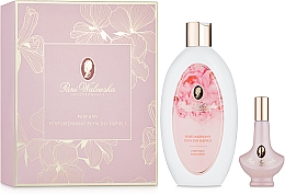Духи, Парфюмерия, косметика Pani Walewska Sweet Romance - Набор (perfum/30ml + b/foam/500ml)