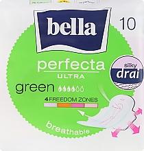 Духи, Парфюмерия, косметика Прокладки Perfecta Green Drai Ultra, 10шт - Bella