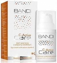 Духи, Парфюмерия, косметика Крем для области вокруг глаз с активным витамином С - Bandi Professional C-Active Eye Cream With Active Vitamin C