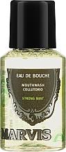 Духи, Парфюмерия, косметика Ополаскиватель для полости рта - Marvis Concentrate Strong Mint Mouthwash (мини)