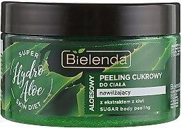 "Духи, Парфюмерия, косметика Увлажняющий сахарный скраб для тела ""Алоэ"" - Bielenda Super Skin Diet Hydro Aloe"