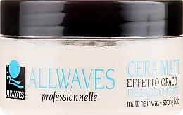 Духи, Парфюмерия, косметика Воск для волос с матовым эффектом - Allwaves Matt Hair Wax