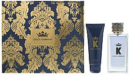 Духи, Парфюмерия, косметика Dolce & Gabbana K by Dolce & Gabbana - Набор (edt/100ml + a/sh/balm/75ml)