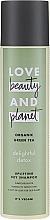 Духи, Парфюмерия, косметика Сухой шампунь с экстрактом зеленого чая - Love Beauty&Planet Organic Green Tea Uplifting Dry Shampoo