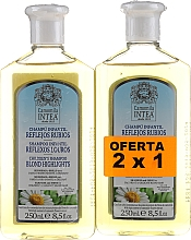 Духи, Парфюмерия, косметика Набор - Intea Children Camomile Shampoo (shm/2х250ml)