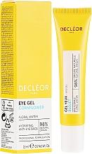 Духи, Парфюмерия, косметика Увлажняющий гель-крем для кожи контуров глаз - Decleor Hydra Floral Everfresh Hydrating Wide-Open Eye Gel