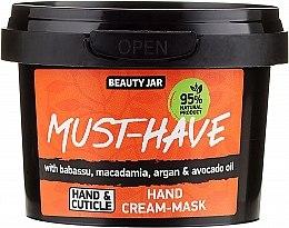 Духи, Парфюмерия, косметика Крем-маска для рук - Beauty Jar Must-Have Hand Cream-Mask