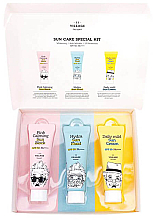 Духи, Парфюмерия, косметика Набор - Village 11 Factory Sun Care Special Kit (fluid/25ml + block/25ml + cream/25ml)