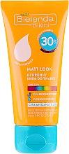 Духи, Парфюмерия, косметика Защитный крем для лица - Bіelenda Matt Look Cream SPF30