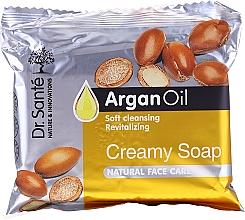 Духи, Парфюмерия, косметика Крем-мыло с маслом арганы для лица - Dr.Sante Cream Soap
