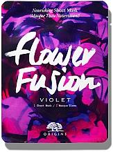 Духи, Парфюмерия, косметика Питательная тканевая маска для лица с фиалкой - Origins Flower Fusion Violet Nourishing Sheet Mask