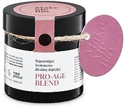 Духи, Парфюмерия, косметика Омолаживающий ночной крем для зрелой кожи - Make Me BIO Anti-Aging Night