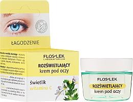 Духи, Парфюмерия, косметика Осветляющий крем для глаз с витамином С - Floslek