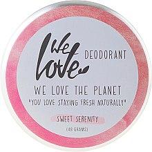 "Духи, Парфюмерия, косметика Натуральный кремовый дезодорант ""Sweet Serenity"" - We Love The Planet Deodorant Sweet Serenity"