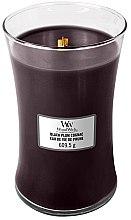 Духи, Парфюмерия, косметика Ароматическая свеча в стакане - WoodWick Hourglass Candle Black Plum Cognac