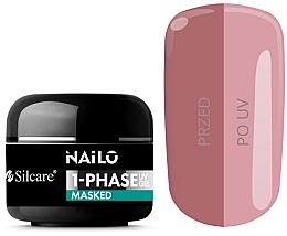 Духи, Парфюмерия, косметика Гель для ногтей - Silcare Nailo 1-Phase Gel UV Masked