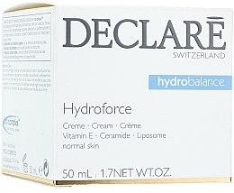 Духи, Парфюмерия, косметика Увлажняющий крем c витамином Е - Declare Hydroforce Cream