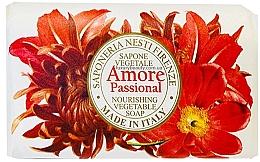 Духи, Парфюмерия, косметика Мыло с экзотическим ароматом ванили, миндаля, апельсина и тропических фруктов - Nesti Dante Amore Passional Nourishing Vegetable Soap