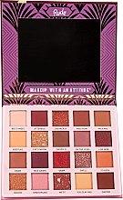Палетка теней для век, 20 цветов - Rude The Roaring 20's Eyeshadow Palette — фото N2