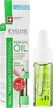 Духи, Парфюмерия, косметика Арома масло для кутикулы и ногтей - Eveline Cosmetics Nail Therapy Professional Green Paradise