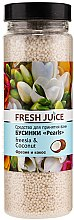Духи, Парфюмерия, косметика Бусинки для ванны - Fresh Juice Bath Bijou Rearls Freesia and Coconut