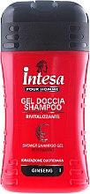 Духи, Парфюмерия, косметика Шампунь-гель для душа c экстрактом женьшеня - Intesa Classic Black Shower Shampoo Gel Revitalizing