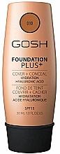 Духи, Парфюмерия, косметика Тональная основа - Gosh Foundation Plus Cover&Conceal SPF15