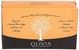 "Духи, Парфюмерия, косметика Мыло твердое ""Олива и мёд"" - Olivia Beauty & The Olive Tree Natural Bar Soap With Olive Oil And Honey"